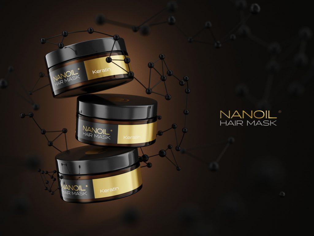 de bästa keratinhårmaskerna Nanoil